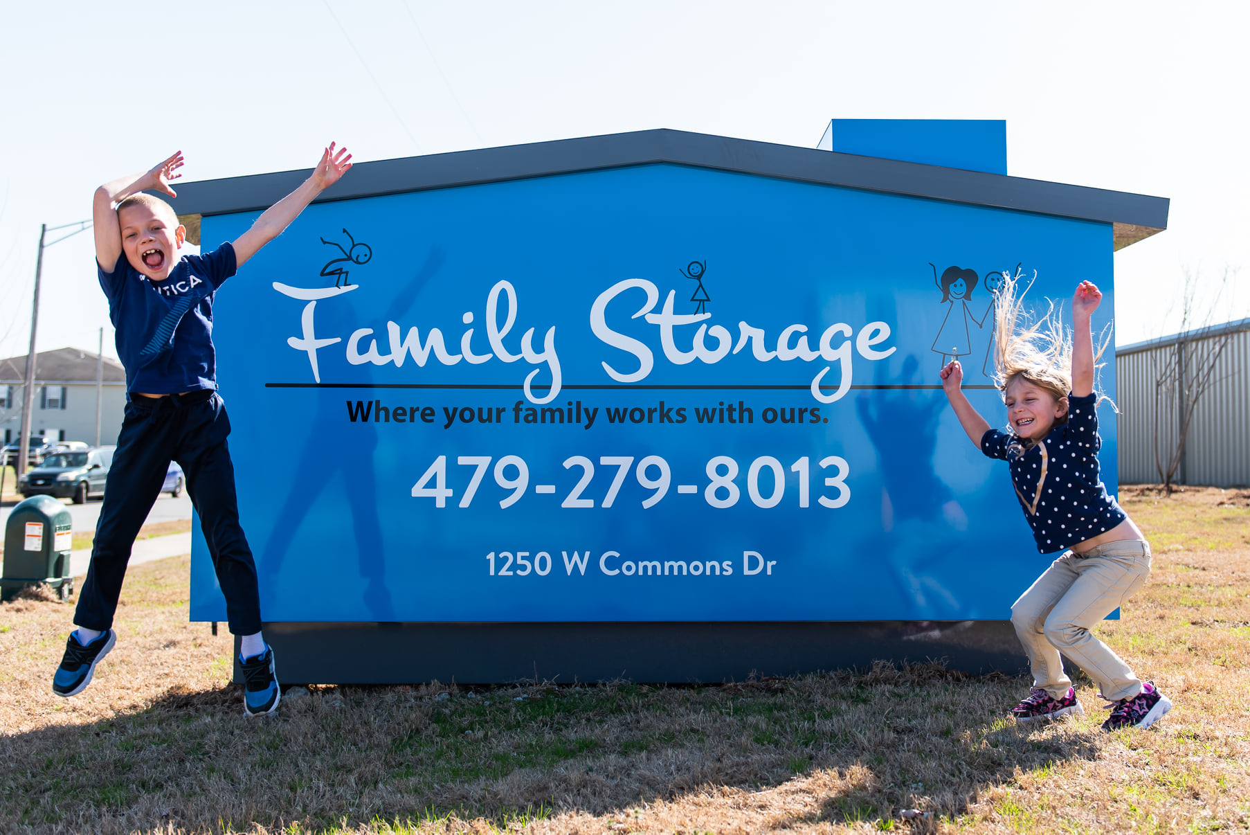 Family Storage of rogers ar about us